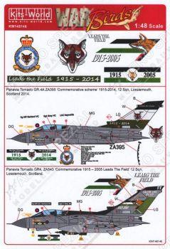 KW48146 Tornado GR.4/4A No. 12 Sqn RAF Jubiläumsanstriche