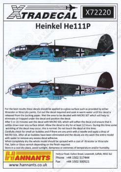XD72220 He 111 P-2