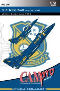 CPS7210 A-4F/TA-4J Skyhawk Blue Angels 1978