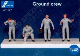PJ481127 Bodenpersonal Nachkriegszeit