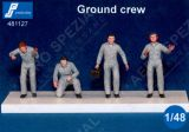 PJ481127 Ground Crew Post-War