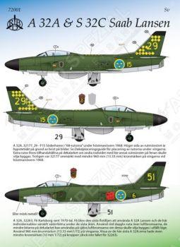 MRD7201 Saab 32 Lansen Teil 1