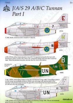 MRD7213 Saab 29 Tunnan Teil 1