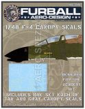 FBD48041 F-4C/D/E/F/G Phantom II Cockpitrahmendichtungen
