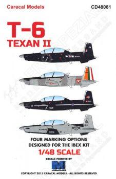 CD48081 T-6A/C Texan II & CT-156 Harvard II