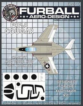 FMS4817 F9F-8 Cougar Mask Set