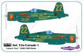 DRD3201 F4U-4 Corsair Lancer Two