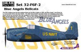 DRD3203 F6F-5 Hellcat Blue Angels