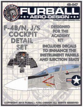 FBD48047 F-4B/J/N/S Phantom II Cockpit Details