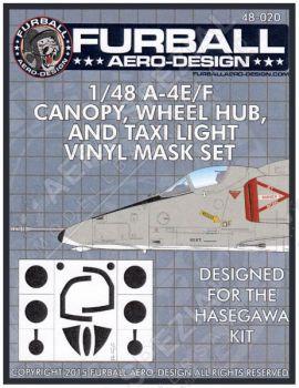 FMS4820 A-4E/F Skyhawk Maskierfolie