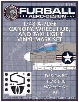 FMS4821 A-7D/E Corsair II Mask Set