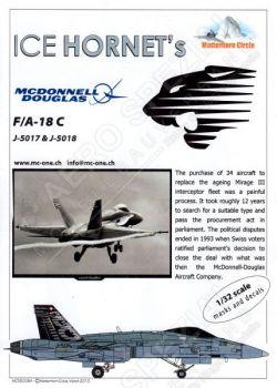 MC32008 F/A-18C Hornet Schweizer Luftwaffe
