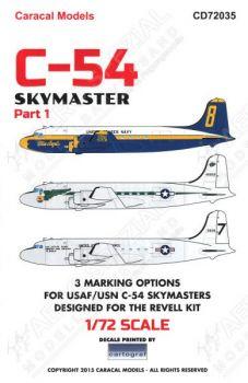 CD72035 C-54 Skymaster, Teil 1
