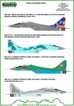 MOD48044A MiG-29 Fulcrum-A Kasachstan, Korea, Malaysia
