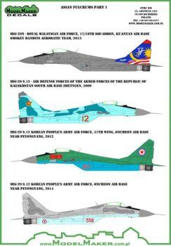 MOD72044A MiG-29 Fulcrum-A Kasachstan, Korea, Malaysia