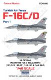 CD48006 F-16 Fighting Falcon Turkish Air Force Part 1