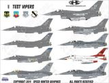 SHG48005 F-16 Fighting Falcon: Test Vipers