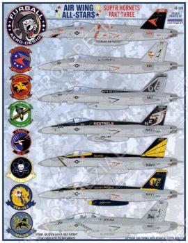 FBD48049 F/A-18E/F Super Hornet Kommandeurs- und Staffelführermaschinen