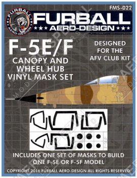 FMS4822 F-5E/F Tiger II Maskierfolie