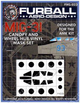 FMS4823 MiG-31 Foxhound Maskierfolie