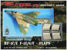 RMA3205 F-4E/F/G & RF-4C/E Phantom II Landeklappen und Querruder