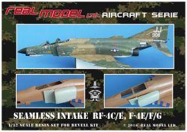 RMA3206 F-4E/EJ/F/G/J Phantom II nahtlose Lufteinläufe