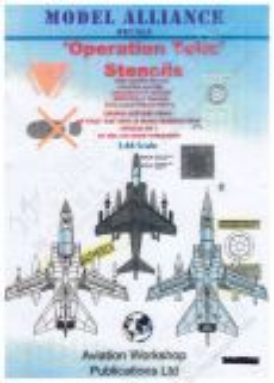 MAL48111 Harrier GR.7, Tornado F.3, Tornado GR.4/4A Stencils
