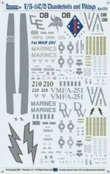 TB48072 F/A-18C/D Thunderbolts & Vikings