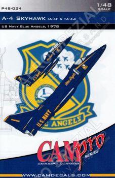 CPS4824 A-4F/TA-4J Skyhawk Blue Angels 1978