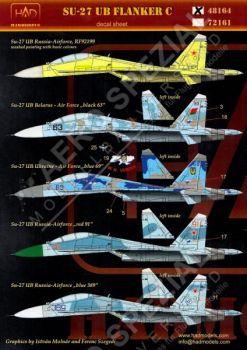 HU48164 Su-27UB Flanker-C Russland, Ukraine, Weißrussland