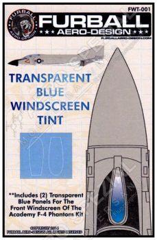 FWT4801 F-4 Phantom II Folie für Windschutzscheibe in Blau