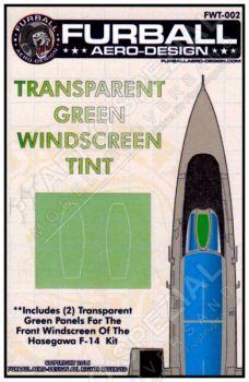 FWT4802 F-14 Tomcat Folie für Windschutzscheibe in Grün