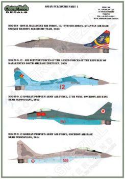 MOD48044 MiG-29 Fulcrum-A Kasachstan, Korea, Malaysia