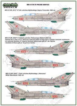 MOD48048 MiG-21UM Mongol-B polnische Luftwaffe und Marine