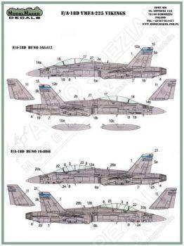 MOD48054 F/A-18D Hornet VMFA(AW)-225 Vikings