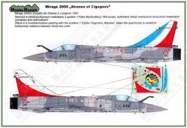 MOD72018 Mirage 2000C Sirenes et Cigognes