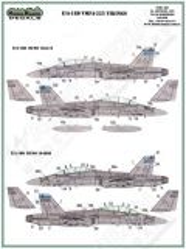 MOD72054 F/A-18D Hornet VMFA(AW)-225 Vikings