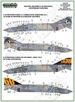 MOD72058 F-4E (AUP) Phantom II griechische Luftwaffe
