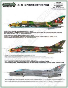 MOD72063 Su-22M-4 Fitter-K Polish Air Force Part 1