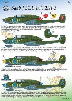 MRD7208 Saab A/J 21