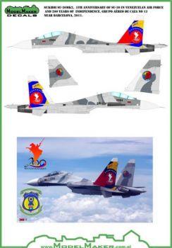 MOD32042 Su-30MK2 Flanker-G Venezuelan Air Force