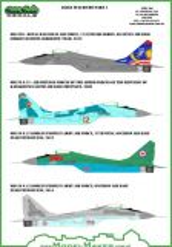 MOD72044 MiG-29 Fulcrum-A Kazakhstan, Korea, Malaysia