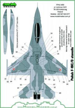 MOD72073 F-16C/D Block 52+ Fighting Falcon polnische Luftwaffe