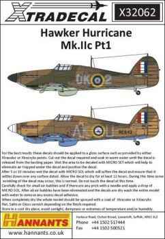 XD32062 Hurricane Mk.IIc Teil 1