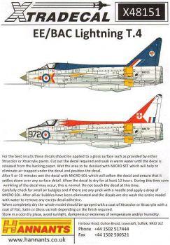 XD48151 EE/BAC Lightning T.4