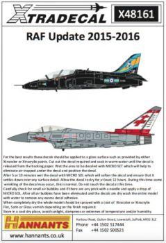 XD48161 RAF Update 2015-2016