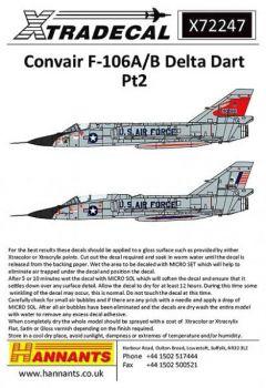 XD72247 F-106A/B Delta Dart Teil 2