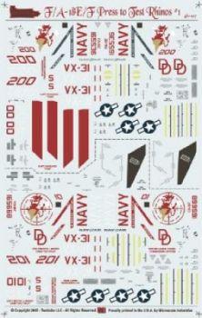 TB48107 F/A-18E/F VX-31