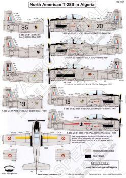 BD32038 T-28S Fennec französische Luftwaffe in Algerien