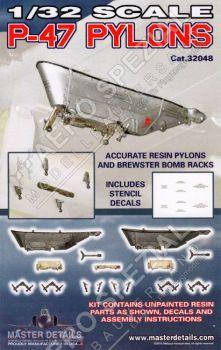 MD32048 P-47 Thunderbolt Pylone
